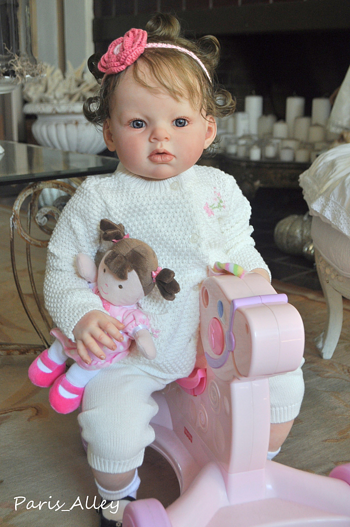 Custom Reborn Toddler Baby Doll Paris Alley Custom Order