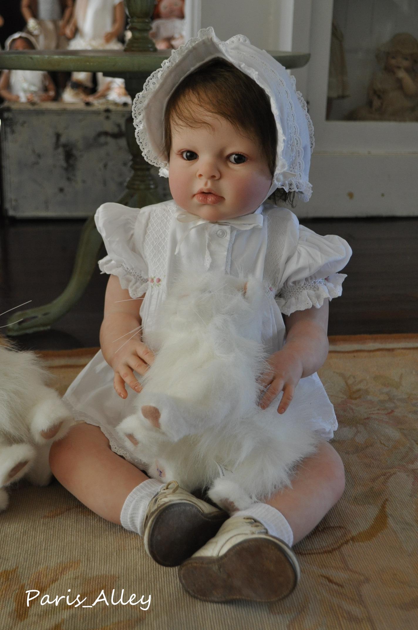Reborn Arianna By Reva Schick Realistic Ooak Toddler Baby